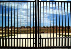 gated community image