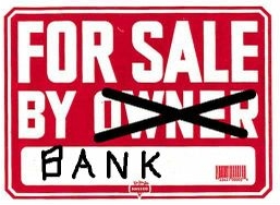 image of bank owned for sale sign