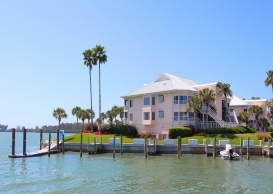 picture of waterfront home