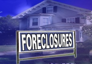 image of foreclosure sign