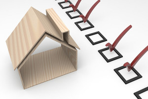 Image of a home inspection checklist