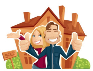Image of year end home buying thumbs up