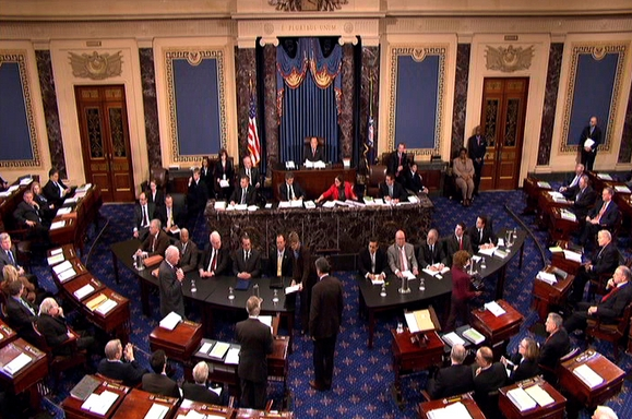 image of the US Senate floor