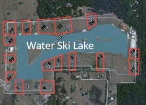 Water ski lake in Land O Lakes, FL