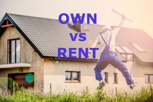 Own vs Rent a home